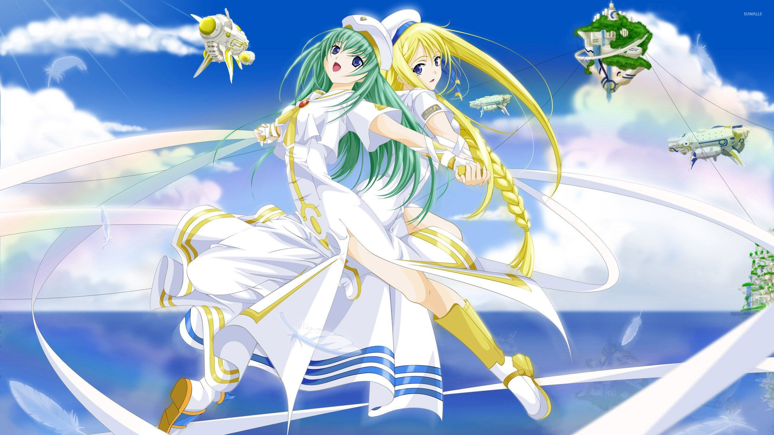 Alicia Florence And Alice Carroll Aria The Origination Wallpaper