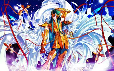 Andromeda Shun - Saint Seiya [2] wallpaper