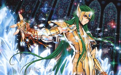 Andromeda Shun - Saint Seiya wallpaper