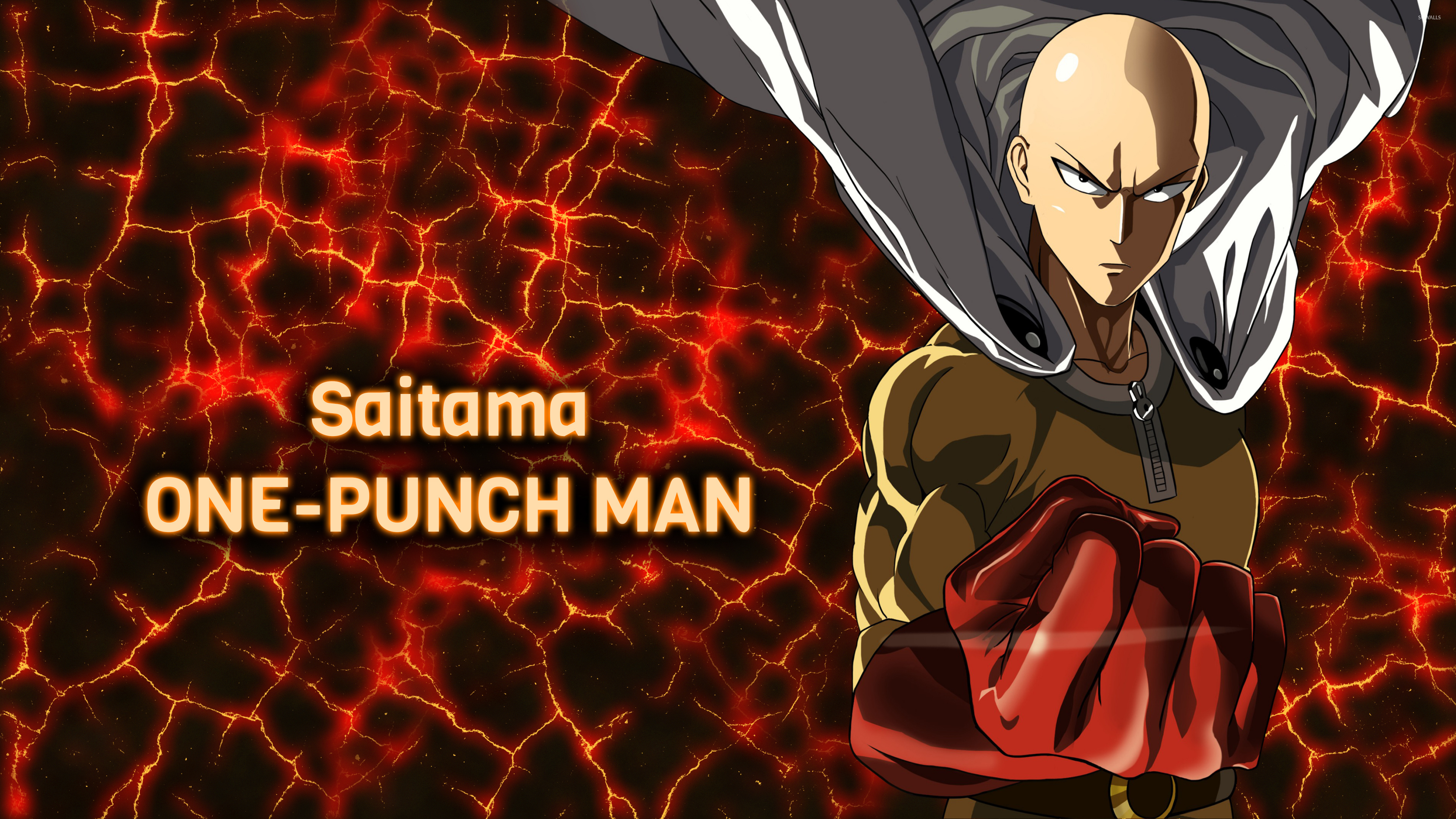 Angry Saitama In One Punch Man Wallpaper Anime Wallpapers 52641