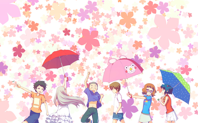 Anohana: The Flower We Saw That Day wallpaper