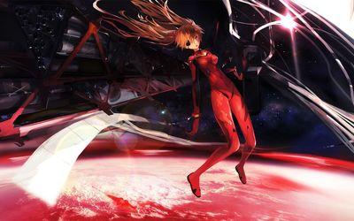 Asuka Langley Sohryu - Neon Genesis Evangelion wallpaper