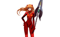 Asuka Langley Soryu [10] wallpaper 2880x1800 jpg