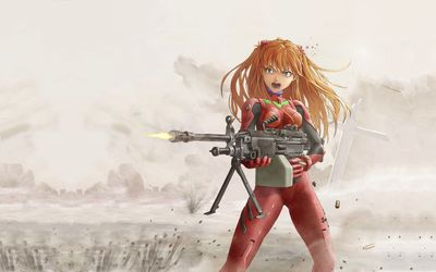 Asuka Langley Soryu [14] wallpaper