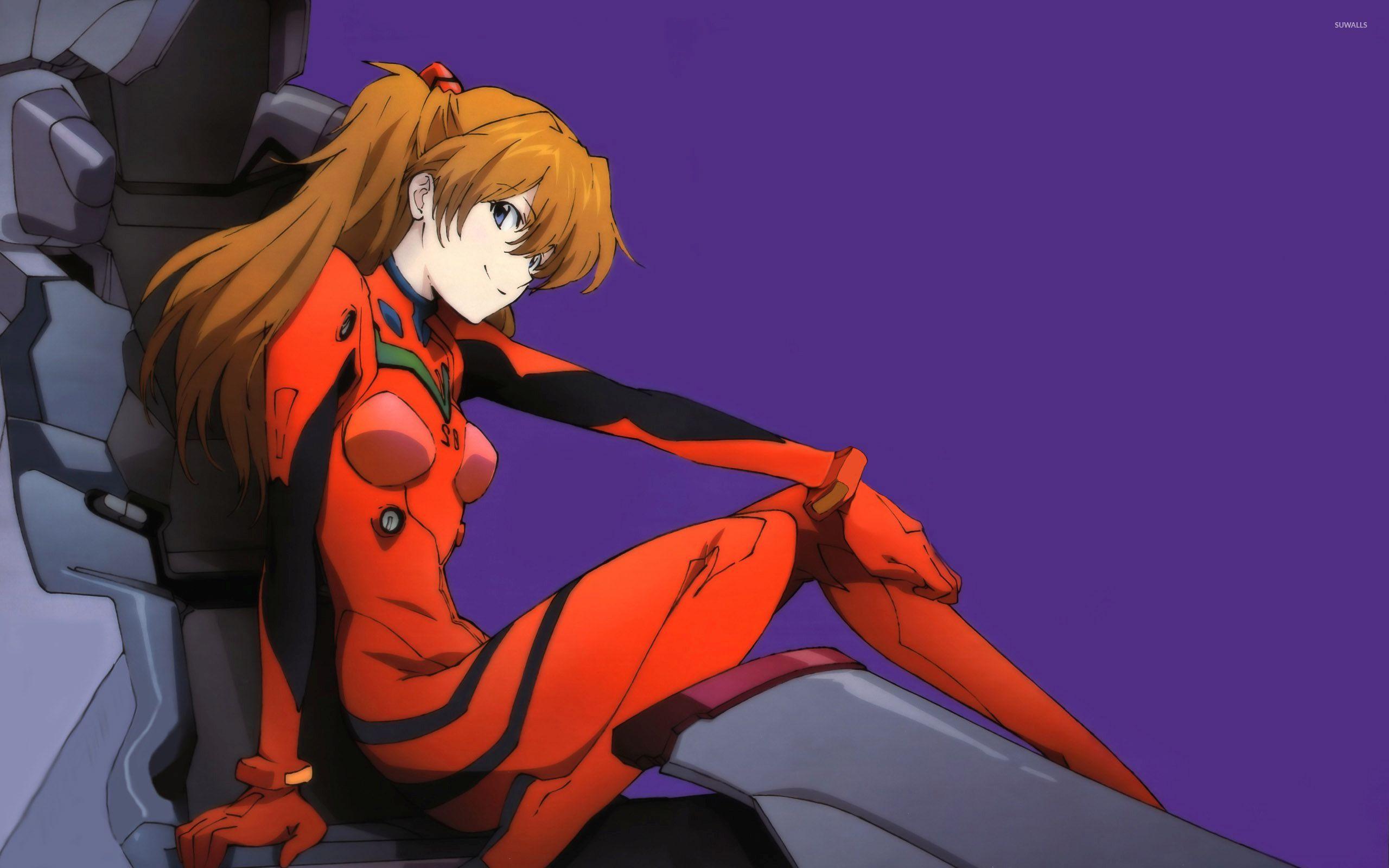 asuka langley soryu - neon genesis evangelion [6] wallpaper - anime