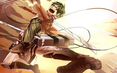 Attack on Titan [10] wallpaper
