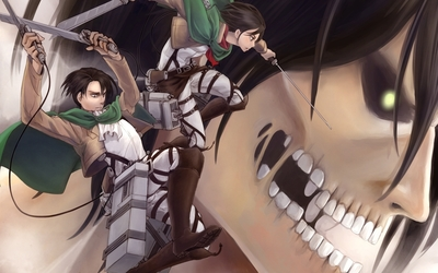 Attack on Titan [13] wallpaper
