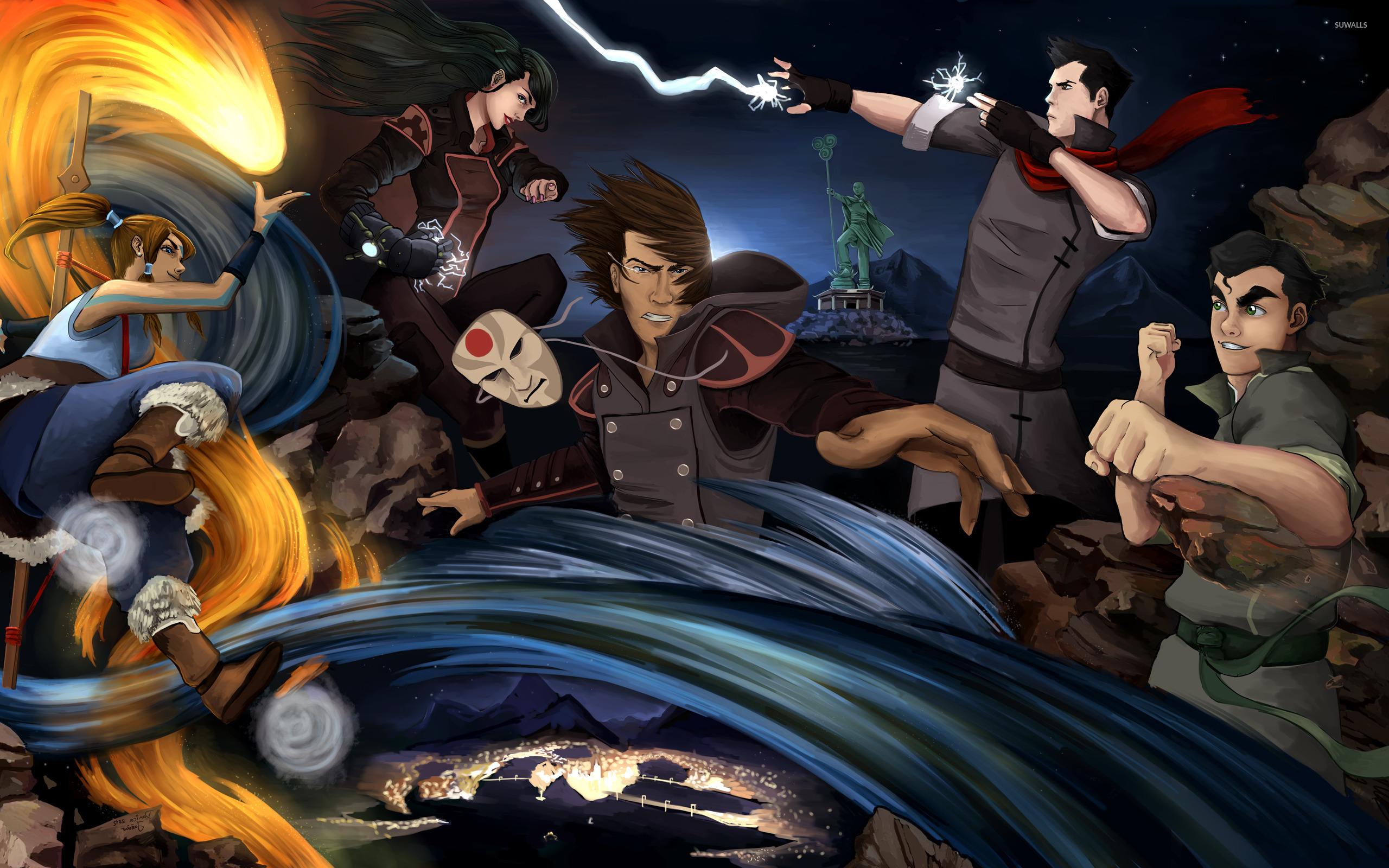 Avatar The Legend Of Korra 4 Wallpaper Anime Wallpapers 13972