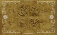 Avatars from Avatar: The Last Airbender wallpaper 1920x1200 jpg