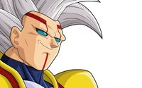 Baby Vegeta smirking - Dragon Ball Z wallpaper 2880x1800 jpg
