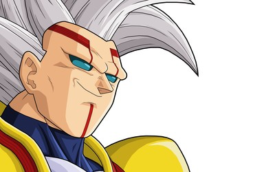Baby Vegeta smirking - Dragon Ball Z wallpaper