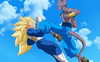 Bills and Vegeta - Dragon Ball Z Battle of Gods wallpaper 2560x1440 jpg