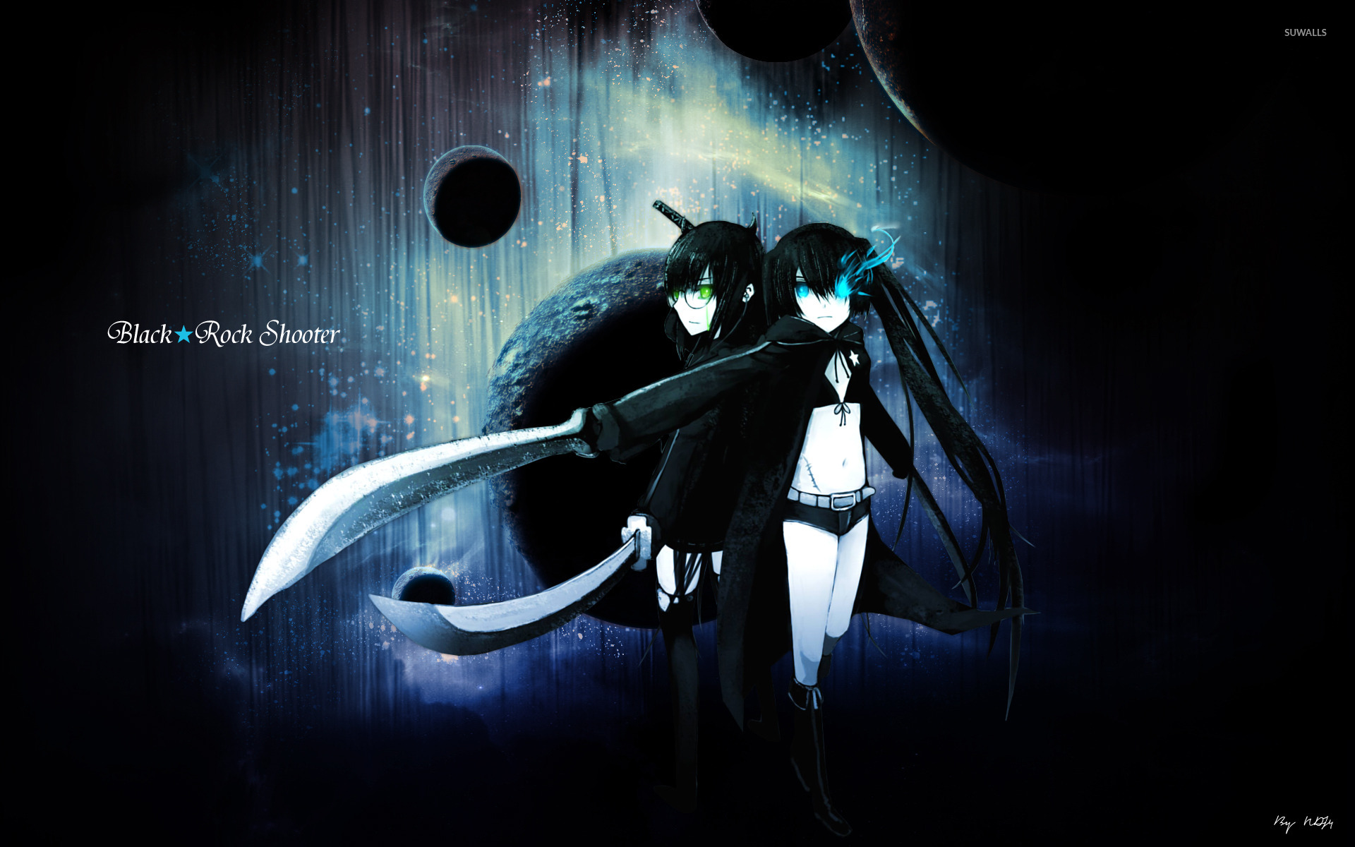 black rock shooter [10] wallpaper - anime wallpapers - #10067