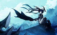 Black Rock Shooter wallpaper 2560x1600 jpg