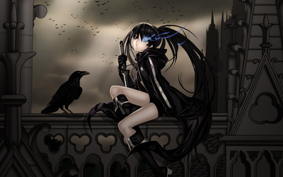 Black Rock Shooter [9] wallpaper