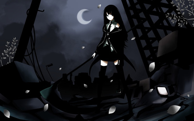 Black Rock Shooter [7] wallpaper