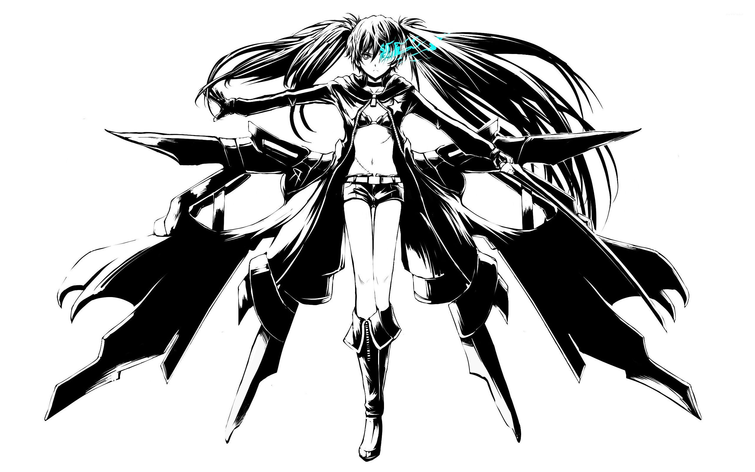Black Rock Shooter 6 Wallpaper Anime Wallpapers 8305