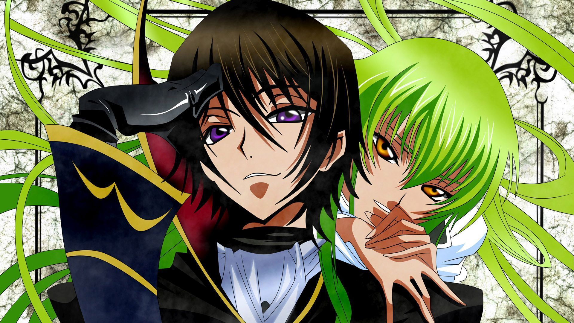 Cc And Lelouch Lamperouge Code Geass Wallpaper Anime