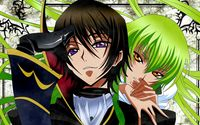 C.C. and Lelouch Lamperouge - Code Geass wallpaper 1920x1080 jpg