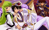 C.C. and Lelouch Lamperouge - Code Geass [2] wallpaper 1920x1080 jpg