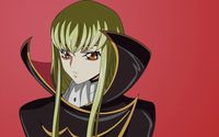 C.C. - Code Geass [7] wallpaper 1920x1200 jpg