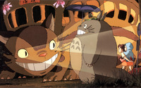Catbus - My Neighbor Totoro wallpaper 2560x1600 jpg