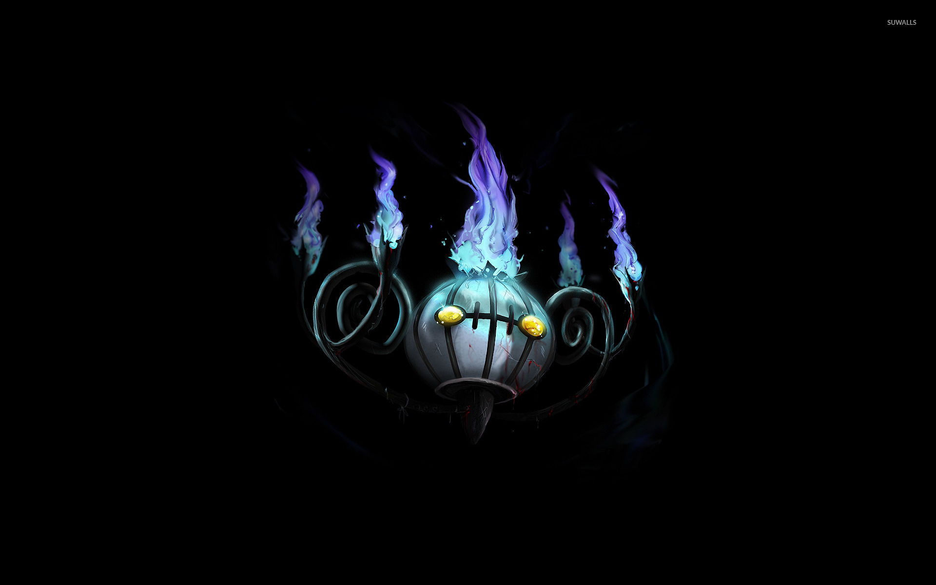 Chandelure - Pokemon wallpaper - Anime