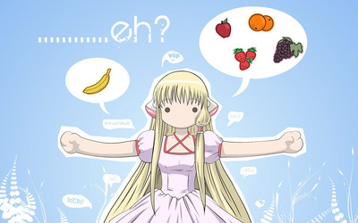 Chii from Chobits wallpaper