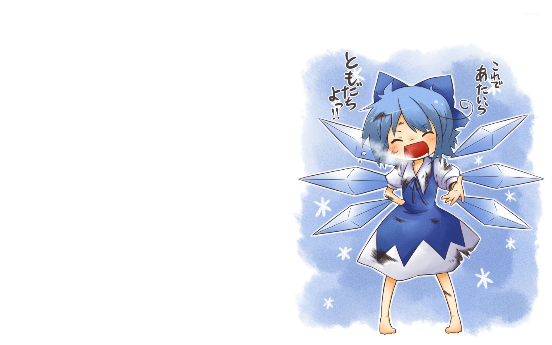 cirno touhou project 7 wallpaper anime wallpapers