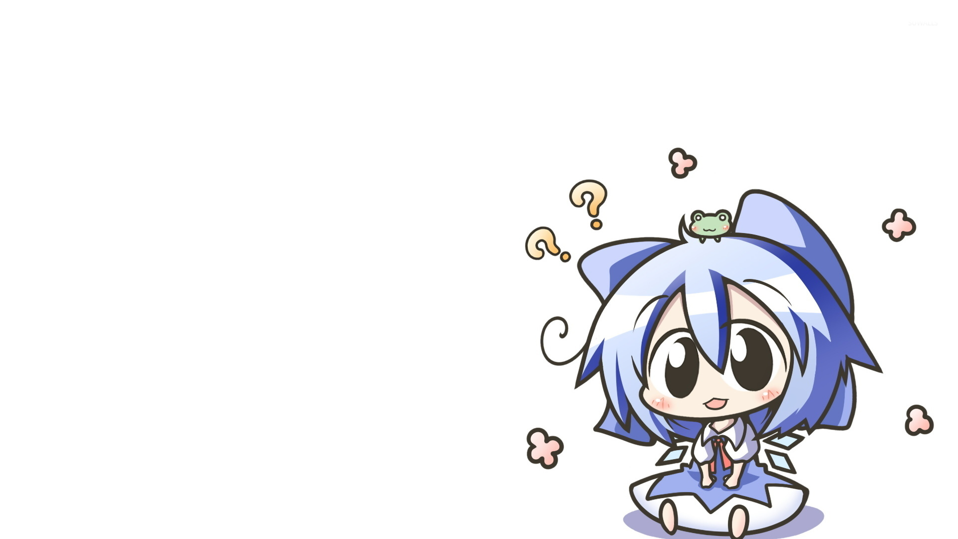 cirno touhou project 6 wallpaper anime wallpapers