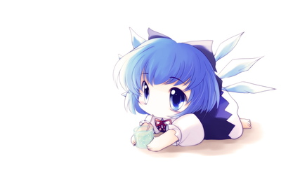 Cirno - Touhou Project [4] wallpaper