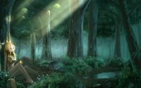 Clare in the forest - Claymore wallpaper 1920x1080 jpg