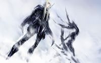 Clare in the snow - Claymore wallpaper 1920x1200 jpg