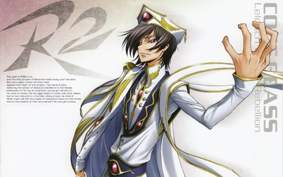 Code Geass: Lelouch of the Rebellion wallpaper