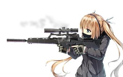 Cute sniper wallpaper