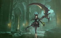 Dead Master - Black Rock Shooter [2] wallpaper 1920x1200 jpg