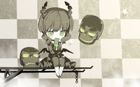 Dead Master with a phone - Black Rock Shooter wallpaper 1920x1200 jpg