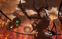 Dead Master with skulls - Black Rock Shooter wallpaper 1920x1200 jpg