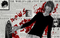 Death Note [10] wallpaper 2560x1600 jpg