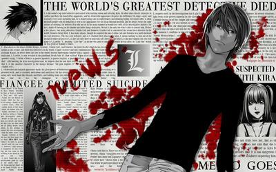 Death Note [10] wallpaper