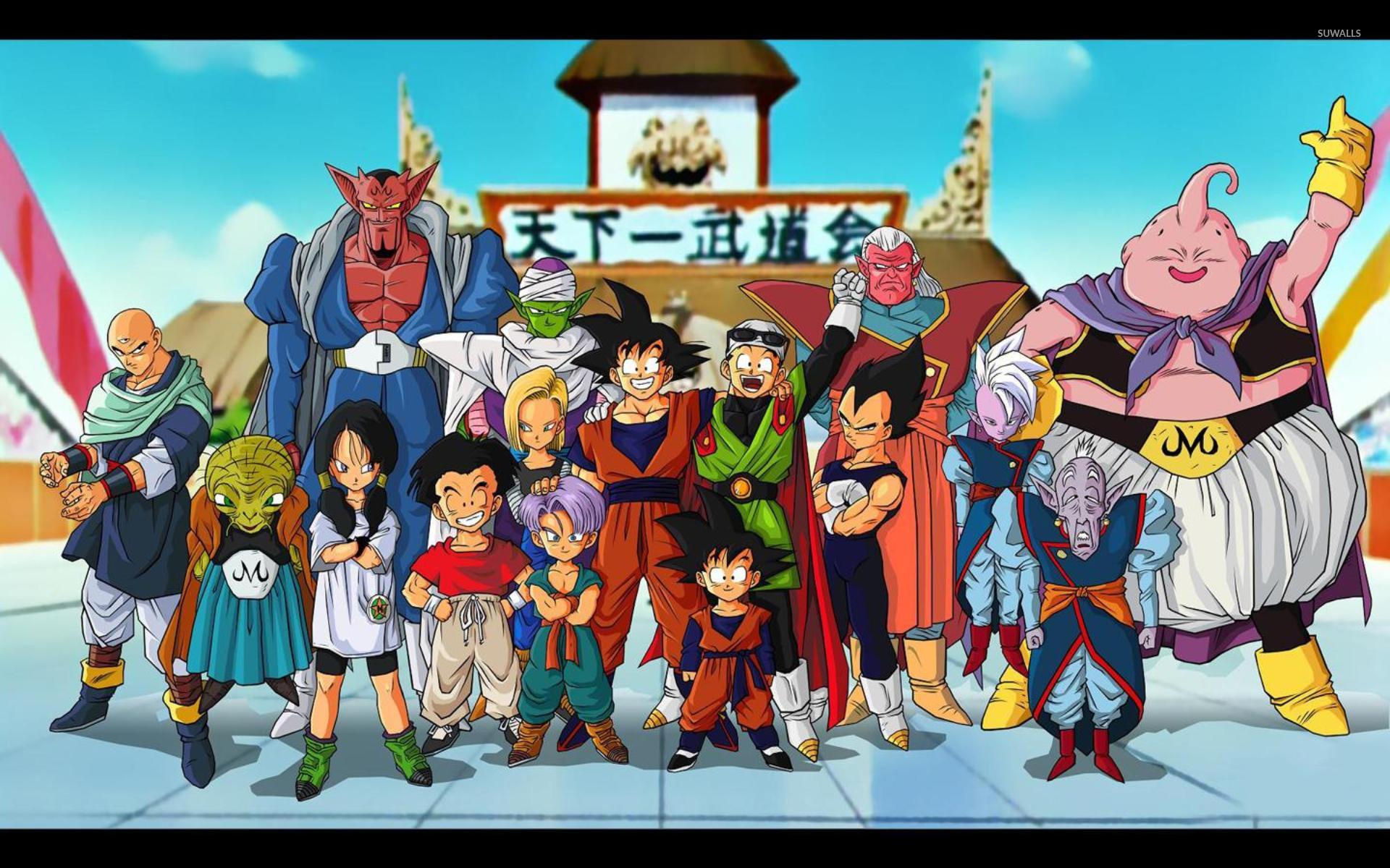 Dragon Ball Z 5 Wallpaper Anime Wallpapers 12486