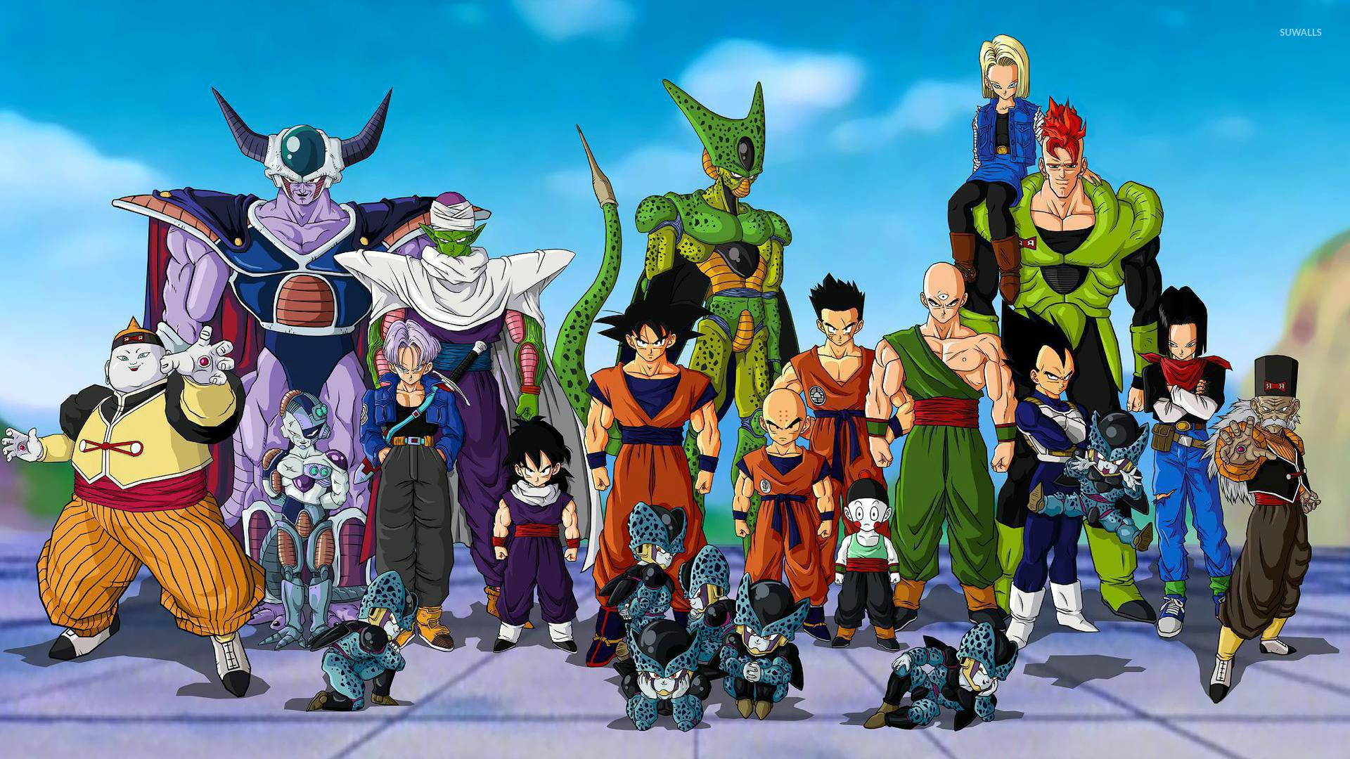 Dragon Ball Z Anime Characters : Dragon ball z wallpaper anime wallpapers