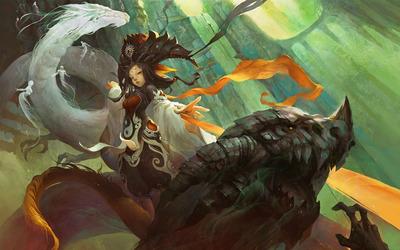 Dragon whisperer wallpaper