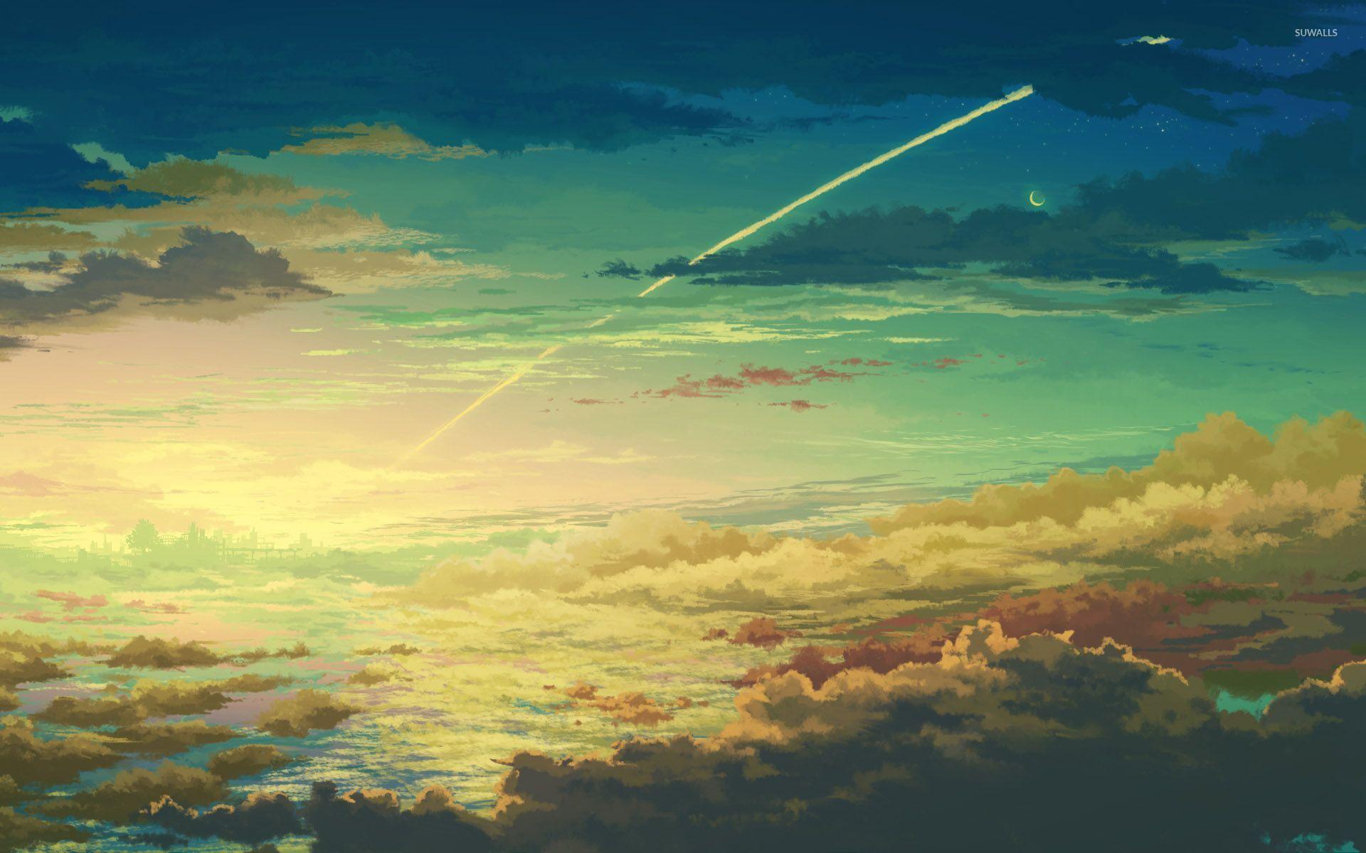 Dusk Sky Wallpaper Anime Wallpapers 30652