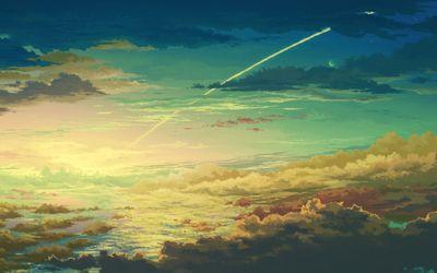 Dusk sky wallpaper