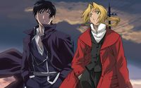 Edward Elric and Roy Mustang - Fullmetal Alchemist [2] wallpaper 1920x1080 jpg