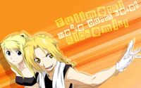 Edward Elric and Winry Rockbell - Fullmetal Alchemist wallpaper 1920x1200 jpg