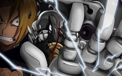 Edward Elric - Fullmetal Alchemist [3] wallpaper