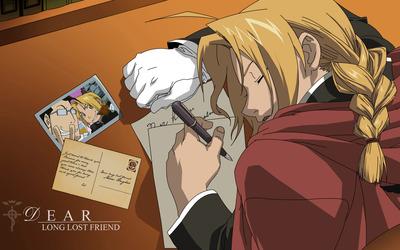 Edward Elric - Fullmetal Alchemist [4] wallpaper