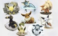 Eevee look-alikes - Pokemon wallpaper 1920x1200 jpg